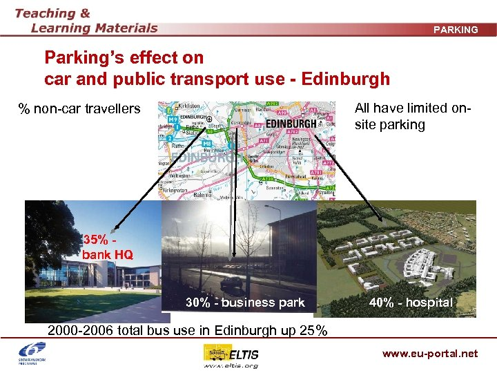 PARKING Parking's effect on car and public transport use - Edinburgh All have limited