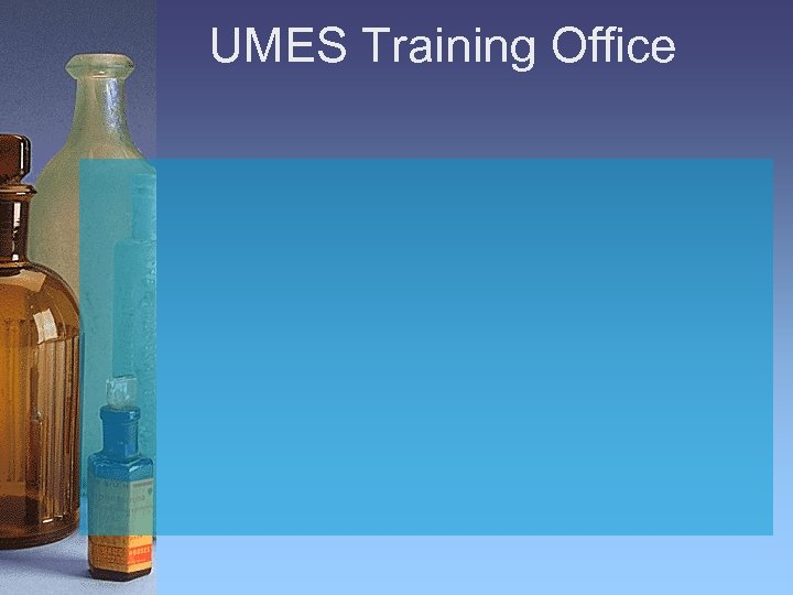 UMES Training Office