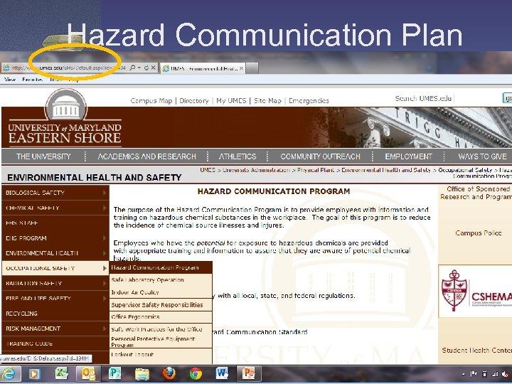 Hazard Communication Plan