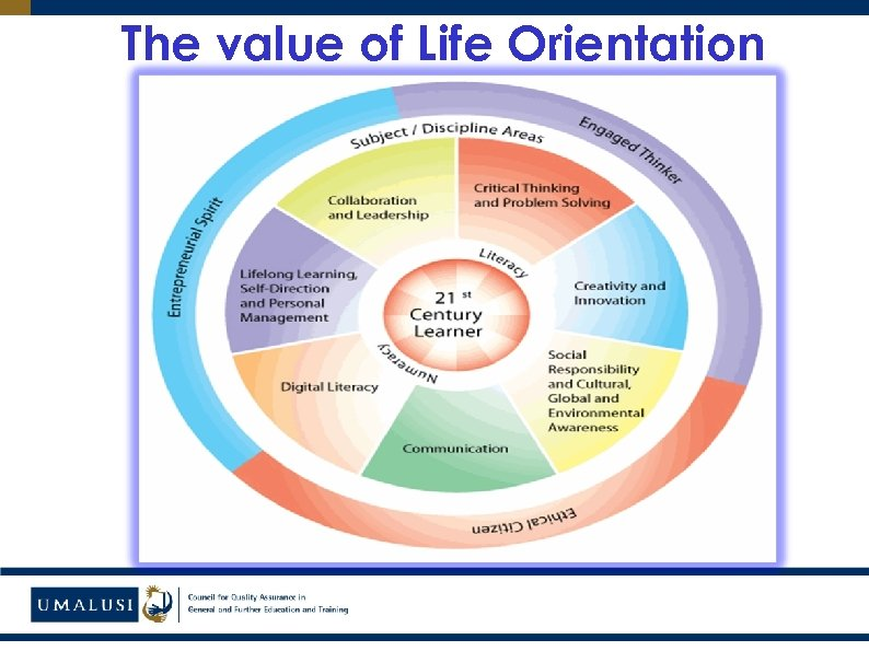 The value of Life Orientation