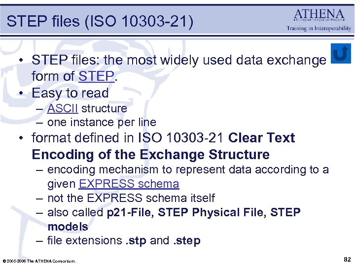 STEP files (ISO 10303 -21) • STEP files: the most widely used data exchange
