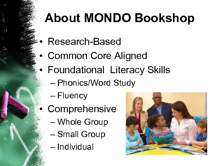 About MONDO Bookshop • Research-Based • Common Core Aligned • Foundational Literacy Skills –