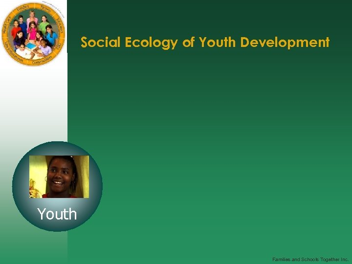 Social Ecology of Youth Development Youth Families and Schools Together Inc.