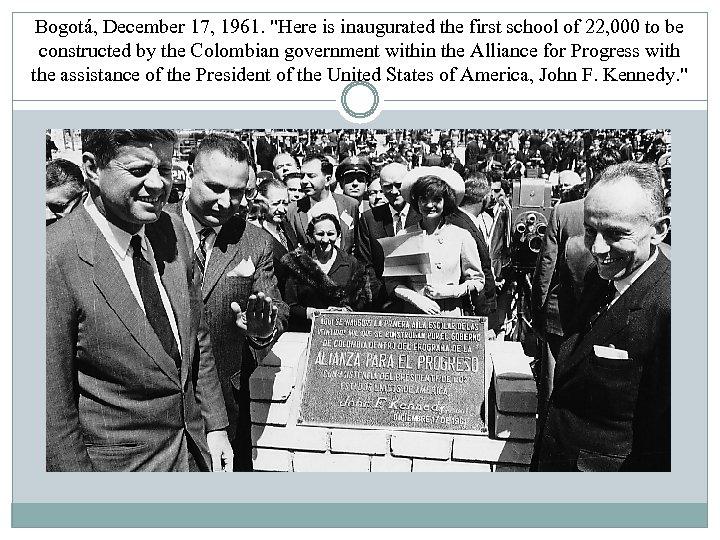 Bogotá, December 17, 1961.