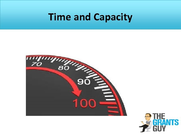Time and Capacity