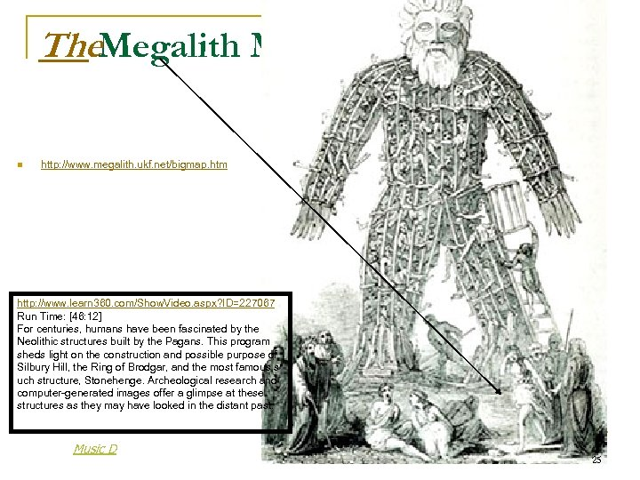The. Megalith Map n http: //www. megalith. ukf. net/bigmap. htm http: //www. learn 360.