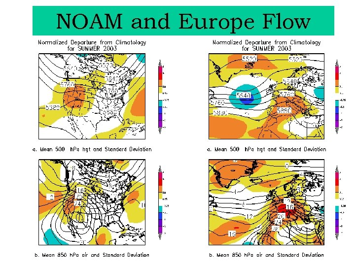 NOAM and Europe Flow