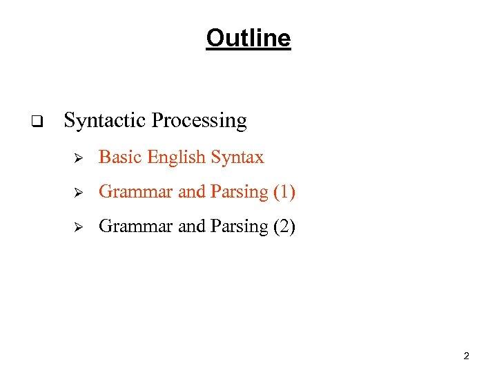 Natural Language Processing 5 Zhao Hai 赵海 Department