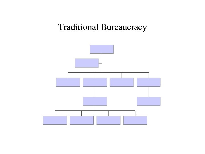 Traditional Bureaucracy