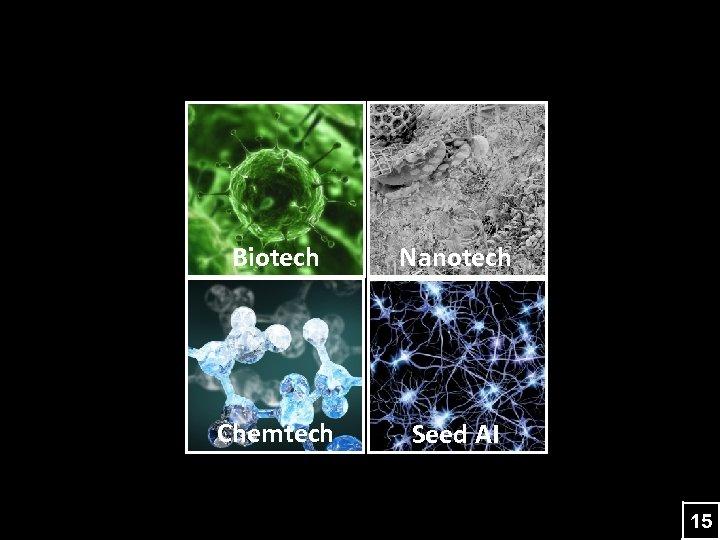Biotech Nanotech Chemtech Seed AI 15