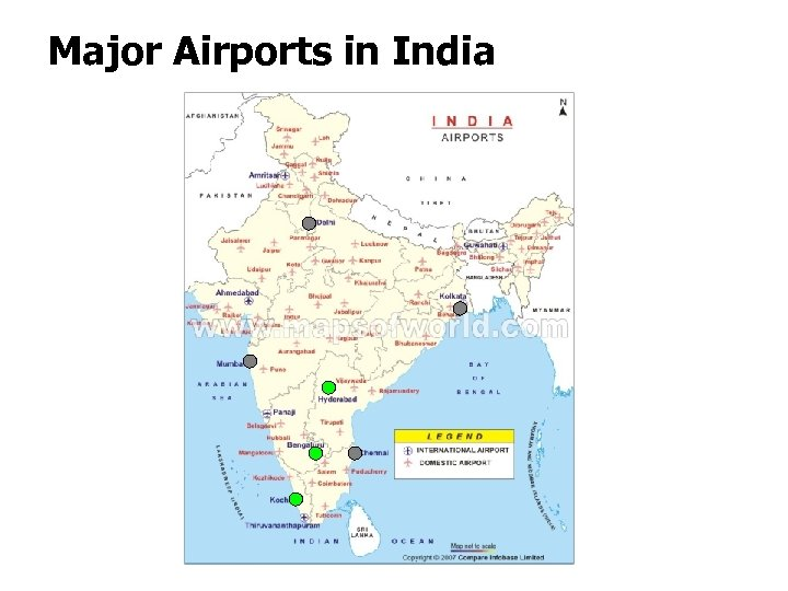 Major Airports in India