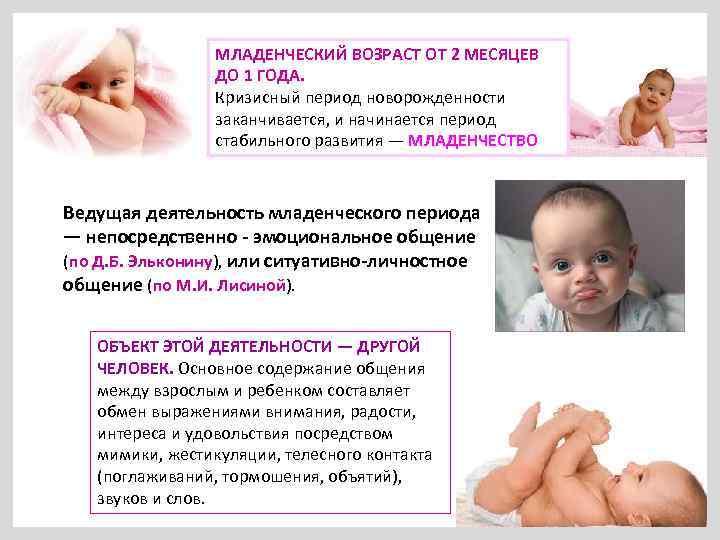 Психические Особенности Детей В Период Новорожденности И Младенчества Шпаргалка