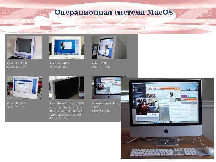 Операционная система Mac. OS 10