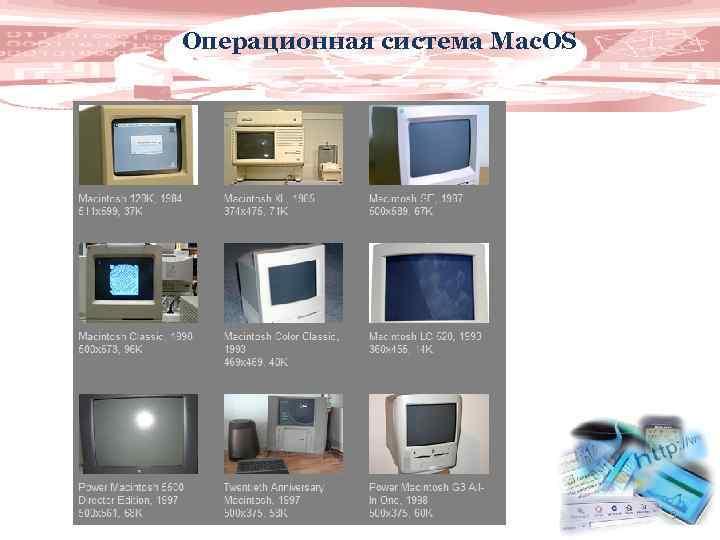 Операционная система Mac. OS 9