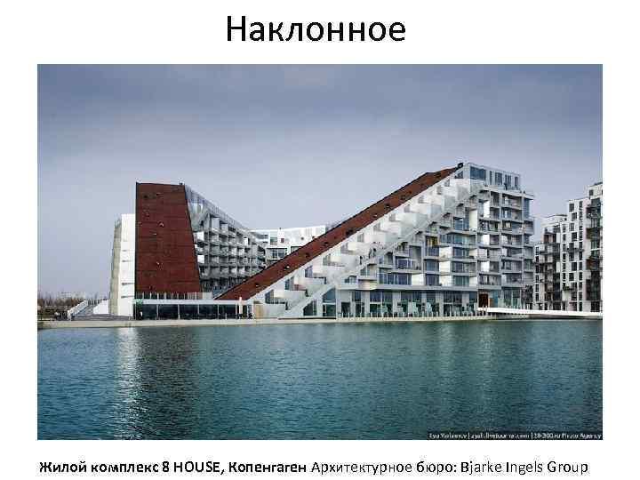 Наклонное Жилой комплекс 8 HOUSE, Копенгаген Архитектурное бюро: Bjarke Ingels Group