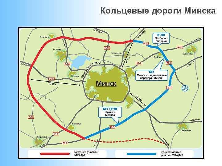 Кольцевые дороги Минска