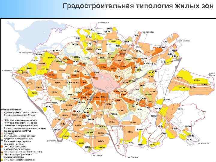 Градостроительная типология жилых зон