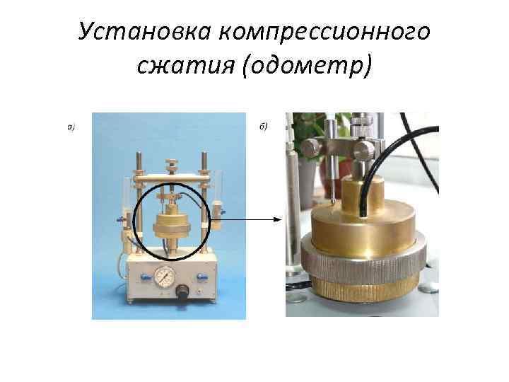Установка компрессионного сжатия (одометр)