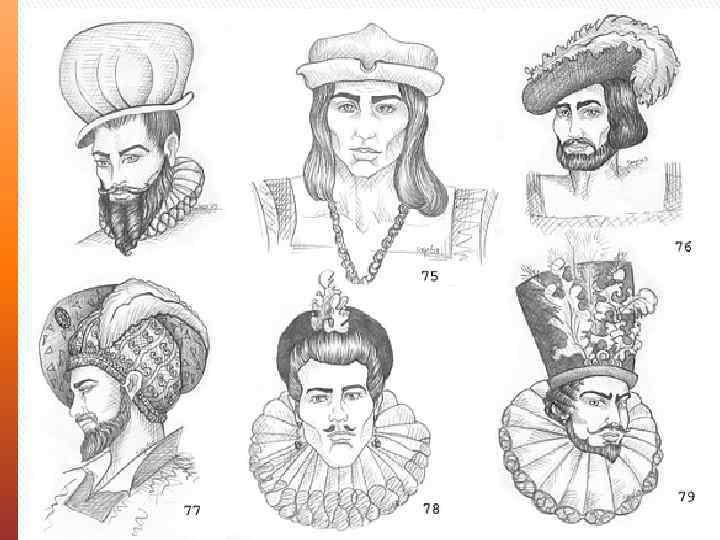 Историческая прическа мужская