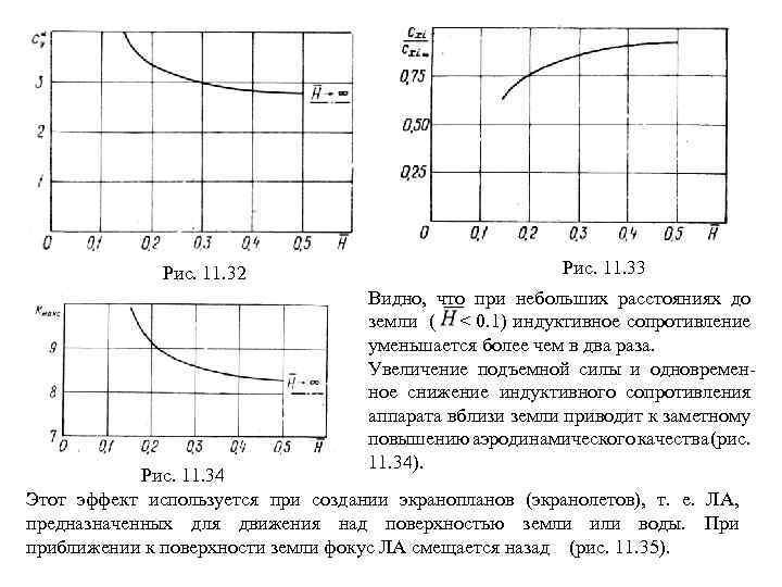 Рис. 11. 32 Рис. 11. 33 Видно, что при небольших расстояниях до земли (