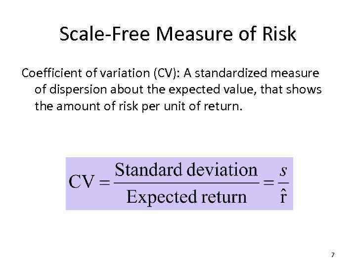 valuation risk and return Go to course principles of valuation: risk and return the notion of risk and statistics are intimately related and we will spend a fair amount of time on the development of some statistical concepts and tools, namely distribution theory and regression analysis.