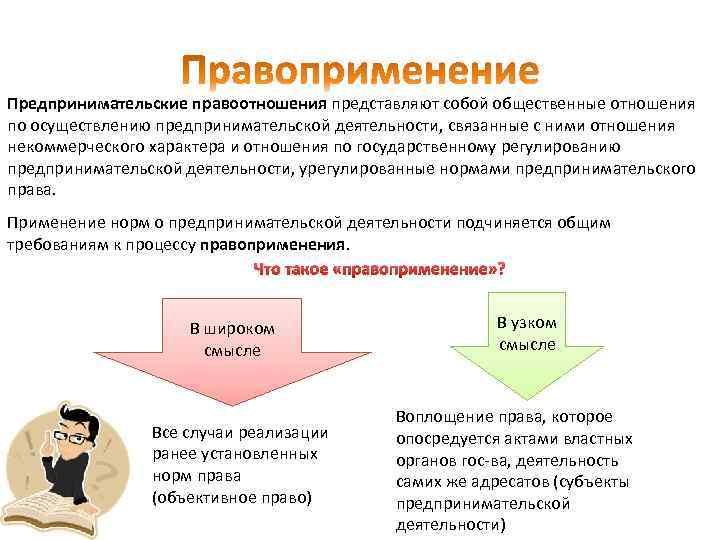 Предпринимательские правоотношения представляют собой общественные отношения по осуществлению предпринимательской деятельности, связанные с ними отношения