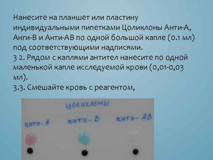 применению по цоликлон инструкция