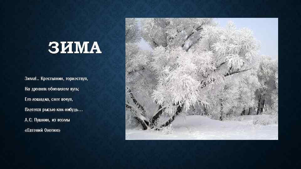 зима картинки крестьянин стих могут быть