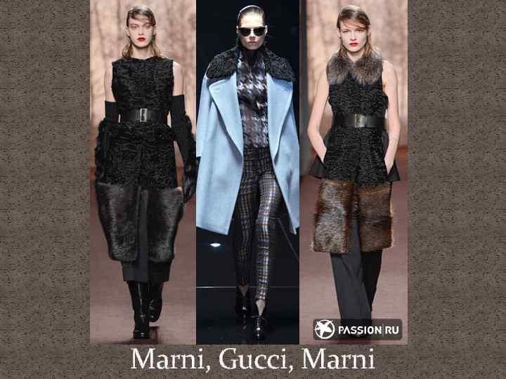 Marni, Gucci, Marni