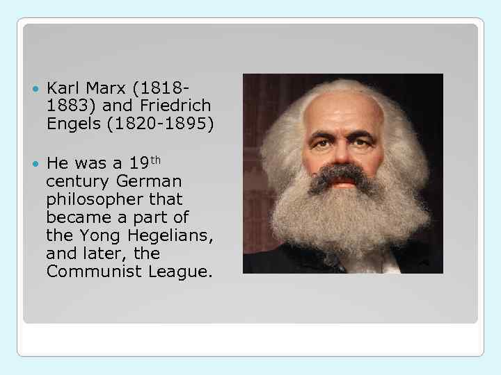 a discussion on the significance of marxs and engels works Karl marx was a very influential thinker because he had a very provocative idea at a time that was ripe for that idea to take hold marx wrote his most important works in the late 1840s, the 1850s.