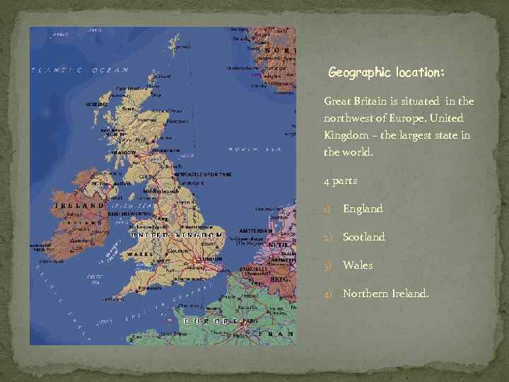 a geography of england England comprises most of the central and southern twothirds of the island of great britain in addition to a number of small islands of which the largest is.