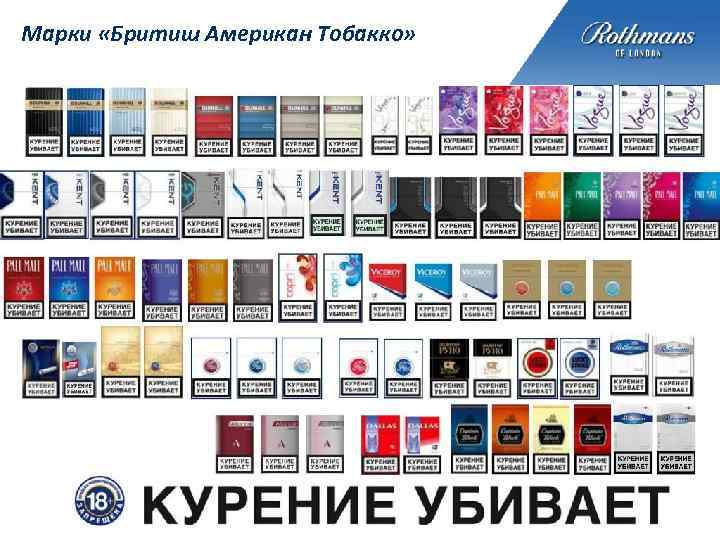 Бритиш американ тобакко сигареты купить купить сигареты в спб блоком