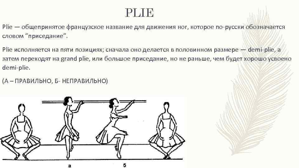 формы доступная позиции в балете названия с картинками ц будучи