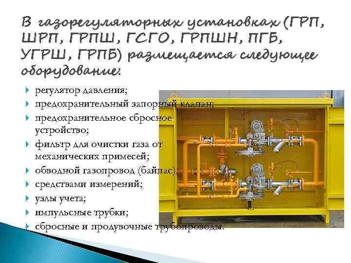 фильтр для очистки газа в ГРПШ
