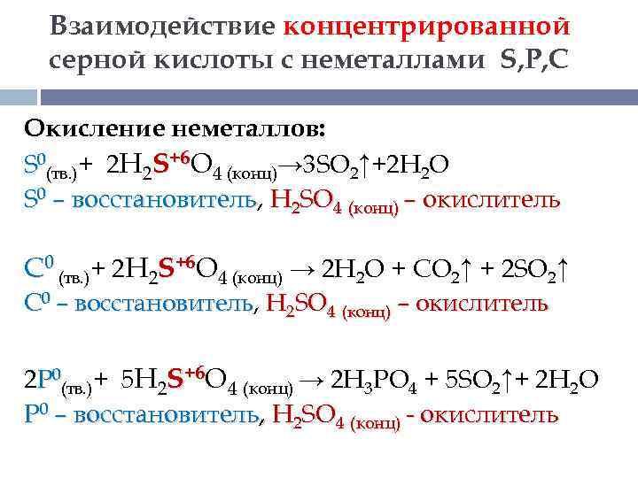 10 н раствор серной кислоты