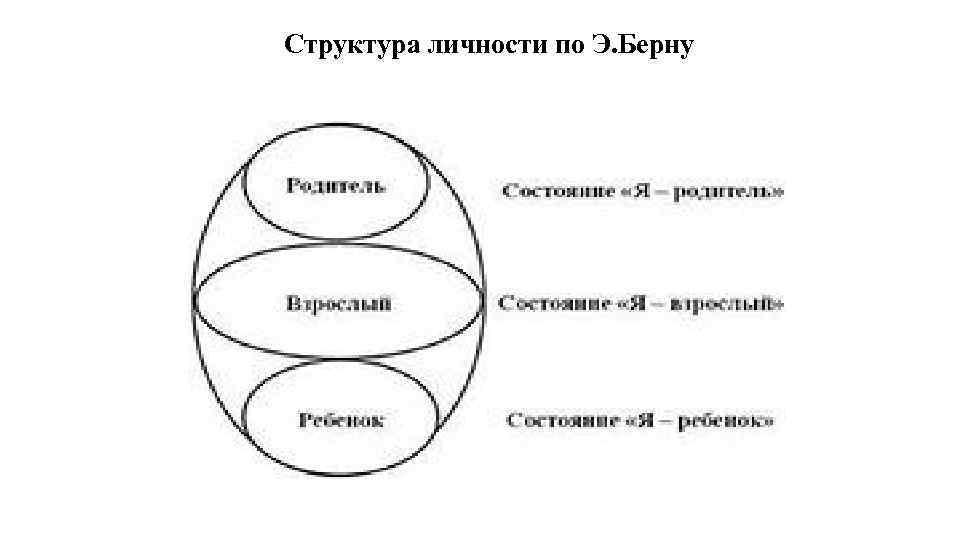 Структура личности по Э. Берну