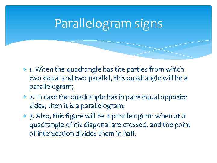 Parallelogram Lesson purpose Educational to study definition