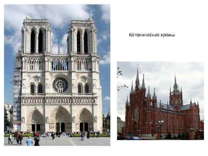 Католические храмы