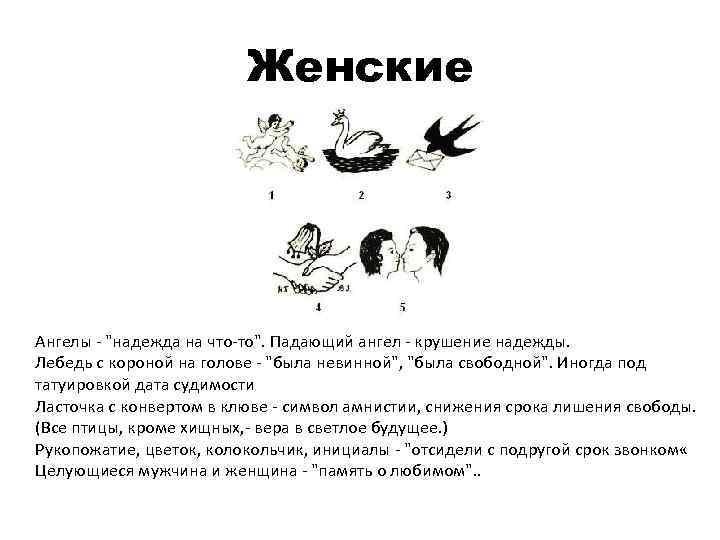 Женские Ангелы -