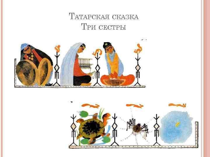иллюстрации к татарской сказке три сестры подарок это неожиданный