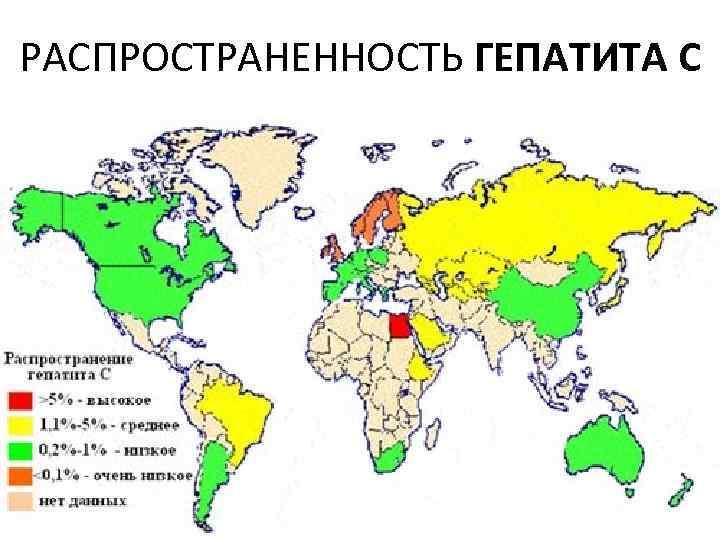 РАСПРОСТРАНЕННОСТЬ ГЕПАТИТА С