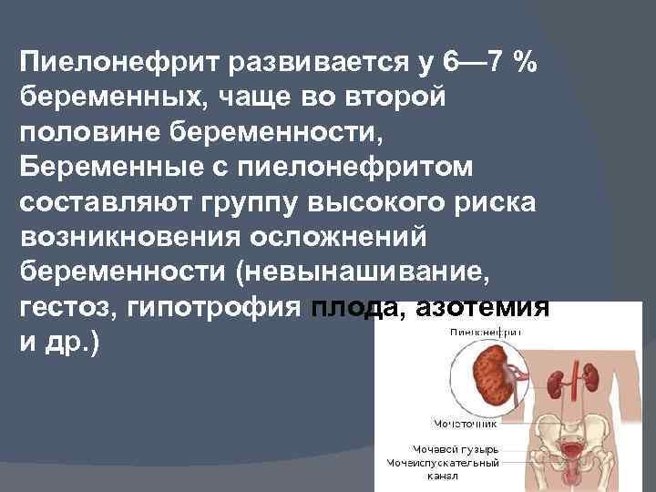 Болезнь почек у беременных 74