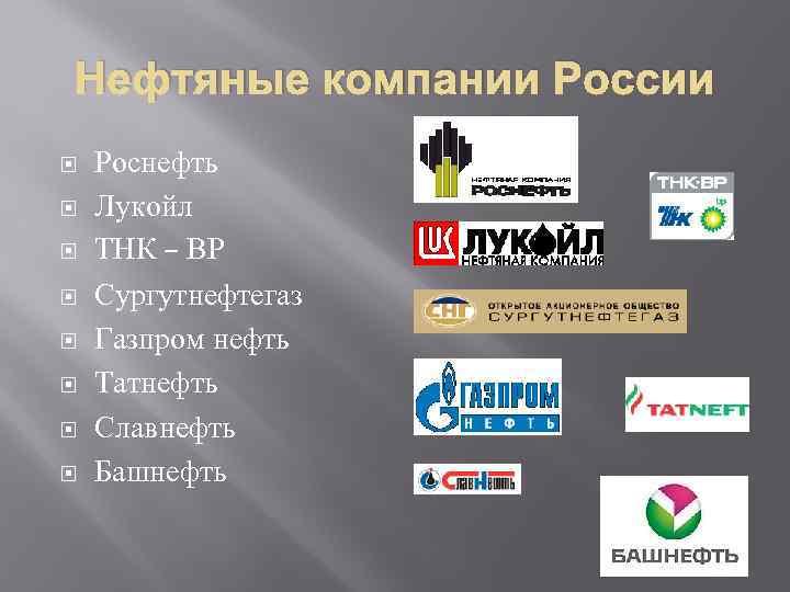 Нефтяные компании россии официальные сайты лесосервисная компания югралесхоз сайт