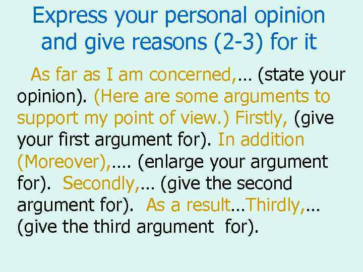 my persona argument and opinion on reverse discrimination Reverse discrimination is discrimination against members of a what is your personal opinion on reverse you could make the argument.