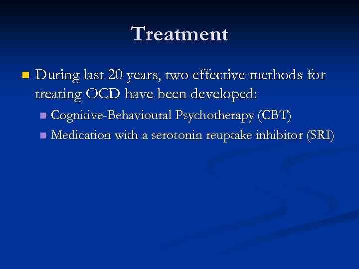 Obsessive Compulsive Disorder OCD Dr Mahesh Kundagol