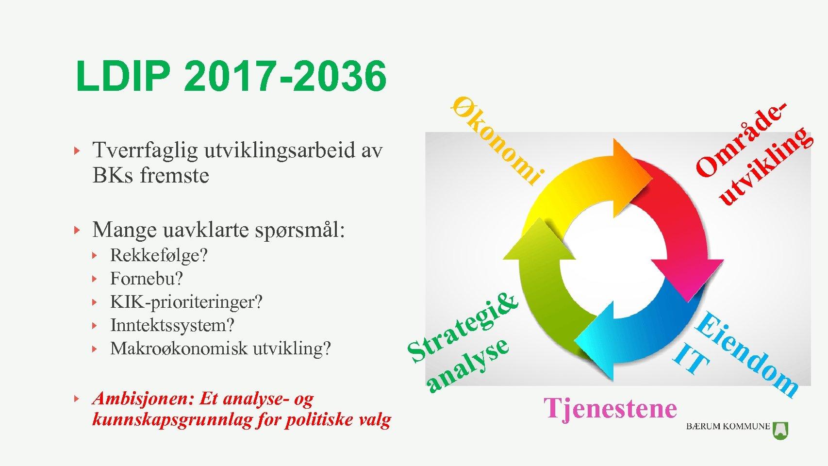 LDIP 2017 -2036 Tverrfaglig utviklingsarbeid av BKs fremste Ø e d g å n