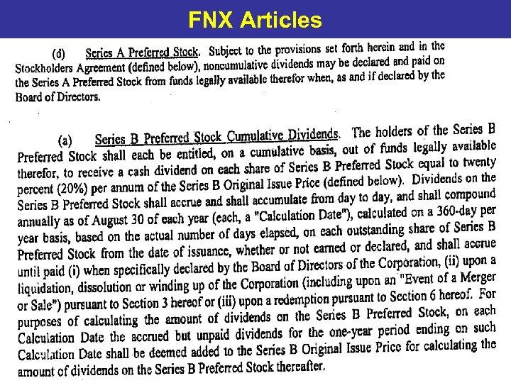 FNX Articles