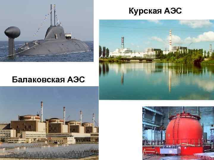 Курская АЭС Балаковская АЭС