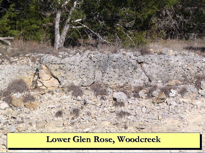 Lower Glen Rose, Woodcreek