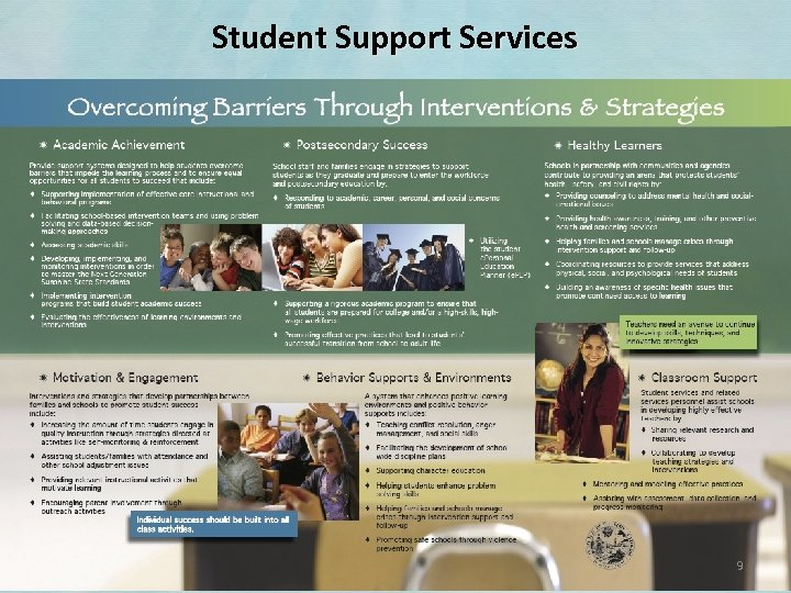 Student Support Services 9